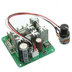 6V - 90V 15A Pulsbredd Kontroll PWM Likströmsmotor Hastighet Regulator Kontroller Switch