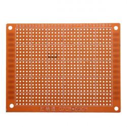 7 X 9 Cm PCB Prototyping Tryckt Kretskort Prototyp Kopplingsdäck Stripboard