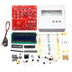 86 Plast + DIY-Meter Tester Kit för Kapacitans ESR Induktans Motstånd NPN PNP Mosfet M328