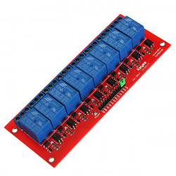 8 Channel 5V Relay Module For Arduino UNO 1280 2560 ARM PIC