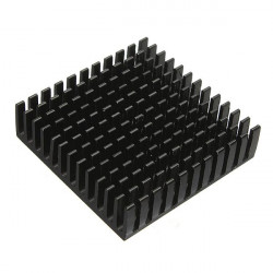 8Pcs 40x40x11mm Aluminum Heat Sink Heatsink Cooling For IC Power LED Transistor