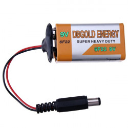 9V Battery And Battery Buckle Snaps Deduction For Arduino 2560 / 2560R3 / UNO / UNO R3