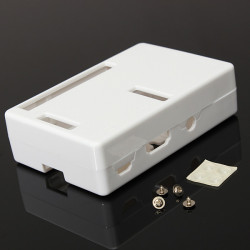 ABS White Box Case For Raspberry Pi Model B+