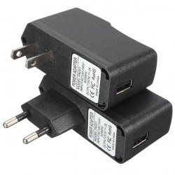 AC 100-240V DC 5V 2A USB Power Supply Adapter oplader US / EU Plug