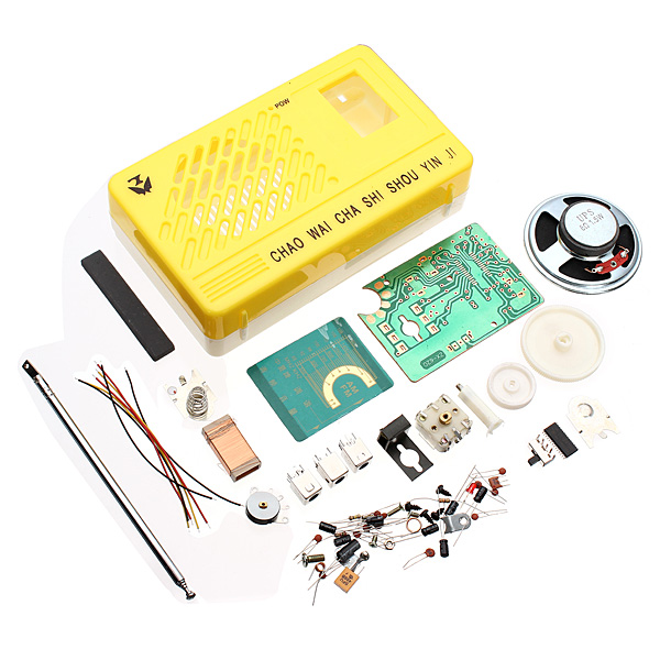AM FM Radio Electronics Kit Electronic DIY Learning Kit Arduino SCM & 3D Printer Acc