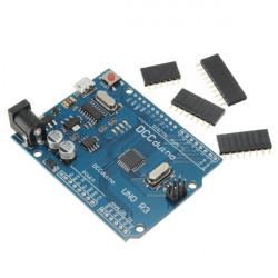 ATMEGA328P CH340G UNO R3 Development Modul Kort för Arduino