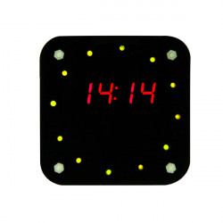 Acrylic Box For Rotary Electronic Clock