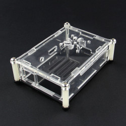 Acrylic Case With Fan Hole For Raspberry PI 2 Model B & RPI B+