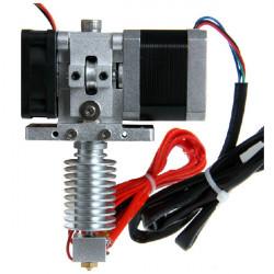 Monterade GT8 Extruder 0.3-0.5mm Nozzle Alla Metall J-Head Hotend för 3D-skrivare