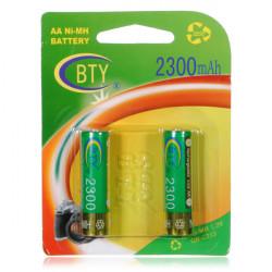 BTY AA 2300mAH NiMH Battery High Capacity