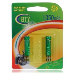 BTY AAA 1350mAH Ni-Mh Battery High Capacity