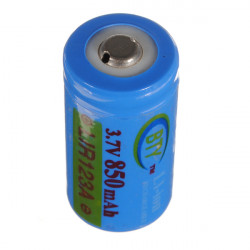 BTY LIR123A 123A 3.7V 850mAh Rechargeable Li-ion Battery