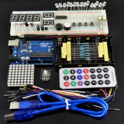 Grundläggande Starter Startpaket UNO för Arduino Grunderna