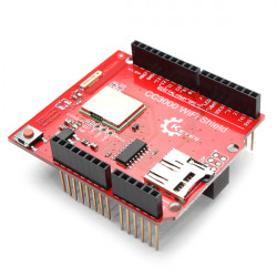 CC3000 WiFi Skärmad Modul för Arduino R3 med SD-kort Support MEGA2560