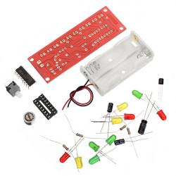 CD4017 Röststyrning LED Kit Elektronisk DIY Kit