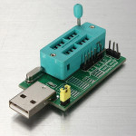 CH341A 24 25 Serie EEPROM Blixt BIOS DVD USB Programmerare med Programvara och Drivrutin C1B5 Arduino SCM & 3D-skrivare