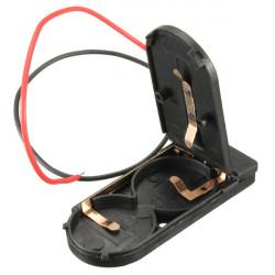CR2032 Knapp Batterihållare Låda med On / Off Switch
