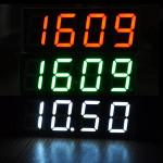 Creative Clock Modul LED Digital Tube med Temperatur Dato Arduino SCM & 3D-printer