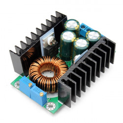 DC-DC 10A Step Down Adjustable Constant Voltage Current Power Supply Module
