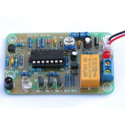 DIY 12V Human Infrared Proximity Sensor Delay Switch Module Kit