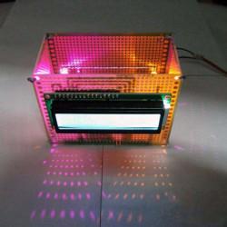 DIY 1602 Calendar Penholder Electronic Clock Kit