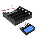 DIY 4 Slot Parallel 18650 Battery Holder With 2 Leads Arduino SCM & 3D Printer Acc