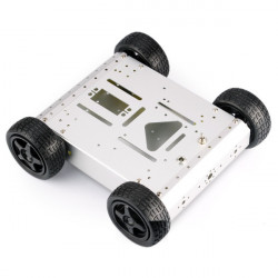 DIY 4WD Aluminium intelligente Mobilroboter Auto Plattform Kit für Arduino