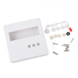 DIY 86 Plast Skal för DIY Meter Tester Kit LCD1602 med Buttons