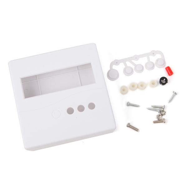 DIY 86 Plast Skal för DIY Meter Tester Kit LCD1602 med Buttons Arduino SCM & 3D-skrivare