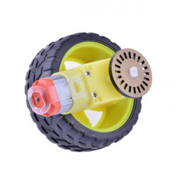 DIY Car Model TT Motor Encoder Wheel