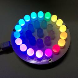 DIY Full Färg LED Touch Keys Aurora Towers Kit