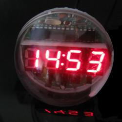 DIY Lampeskærm Fjernbetjening Clock Elektronisk Ur Kit