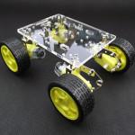 DIY Tracking Hinder Undvikande Fjädring Smart Bil Chassi Arduino SCM & 3D-skrivare
