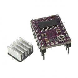 DRV8825 Stepper Driver med Køleplade for RepRap 3D Printer