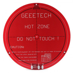 Delta Rostock Round Hot Bed PCB Heated Board For 3D Printer