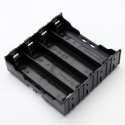 E1A1 ABS Batterilåda Hållare för 4 X 18650
