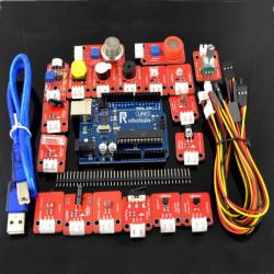 Elektronisk Blocks Sensor Kit med UNO R3 Development Board