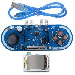 """Spelprogrammering Modul + 1.8"""" 128x160 TFT LCD Skärmad Modul Kit för Esplora Arduino"""