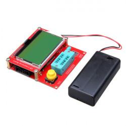 Graphical RLC/ESR Transistor Tester With AVR-ISP Socket MOS/PNP/NPN M328