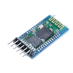 HC-05 Wireless Bluetooth Serial Module With Baseplate For Arduino