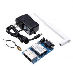 HLK-RM04 RS232 / RS485 Serial To WIfi / Ethernet Module