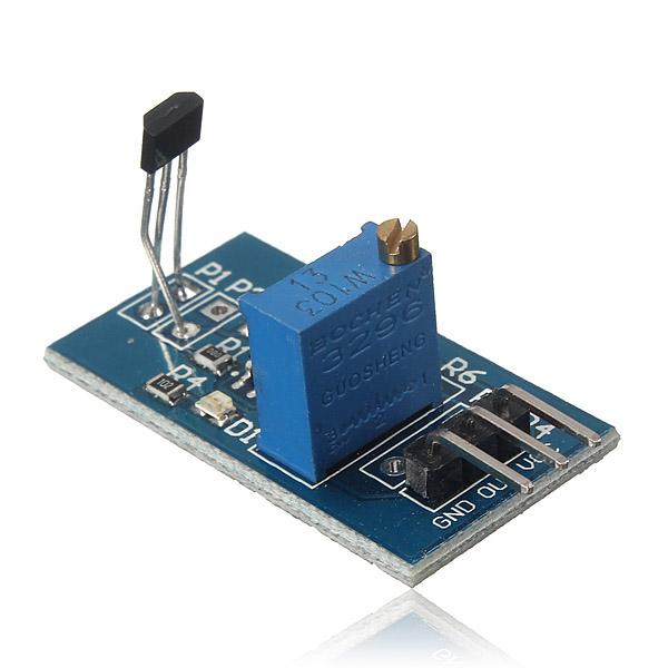 Hall Switch Sensor Modul Motor Speed Test Smart Bil för Arduino Arduino SCM & 3D-skrivare