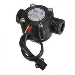 Hall Vattenflöde Sensor Flödesmätare Vattenkontroll 1-30L / Min 2.0MPa
