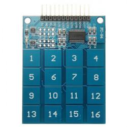 Tangentbord 16 Kanal TTP229 Digital Touch Sensor för Arduino