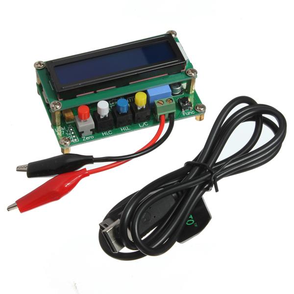LC100-A Precision Digital Kapacitans Meter Induktans Meter Arduino SCM & 3D-skrivare