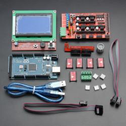 LCD12864 RAMPS 1.4 Kort 2560 R3 Styrkort A4988 Driver Kit för 3D-skrivare