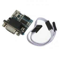 MAX3232 RS232 Serial Port To TTL Converter Module DB9 Connector