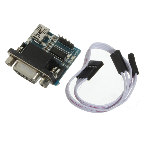 MAX3232 RS232 Serial Port To TTL Converter Module DB9 Connector Arduino SCM & 3D Printer Acc