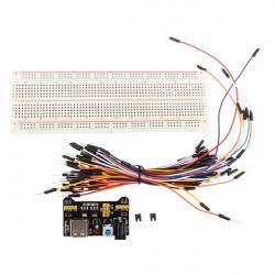 MB-102 MB102 Lödfritt Kopplingsdäck + Strömförsörjning + Kopplingstråd Kit för Arduino