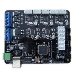 MKS-BASE V1.0 3D Printer Control Bundkort Kompatibel RepRap Ramps1.4 med USB-kabel